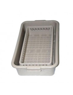 Vollrath rack soak system 1/2 tub & open rack