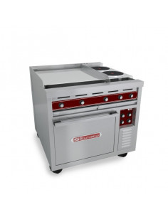 Southbend SE36D-HHH 3 Hot Plate Electric Range With Standard Oven