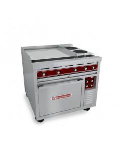 "Southbend S-Series SE36D-TTT 36"" Electric Griddle & Standard Oven"