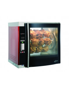 Alto-Shaam AR-7E-SGLPANE Single Pane Flat Glass Rotisserie Oven