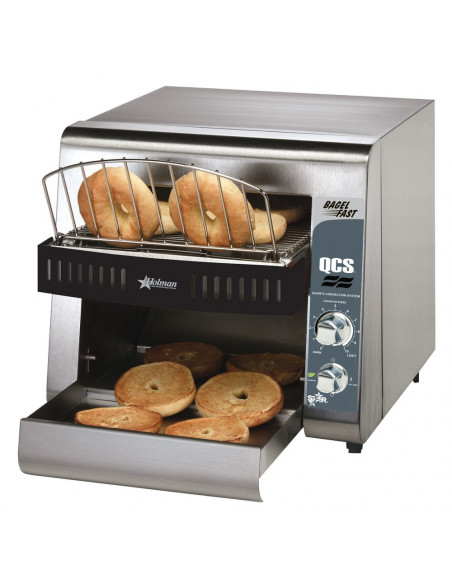 Star QCS1-500B Bagel Fast Conveyor Toaster with Opening
