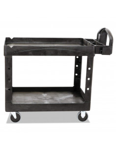 Rubbermaid Cart,Utility,Black,45X26X33,500 Lb Capacity Old Color Gray