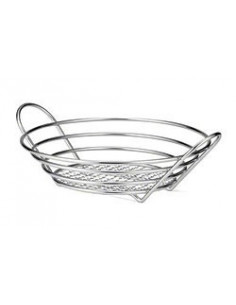 Tablecraft Chrome Plated Round Basket