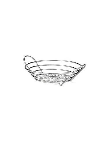 Tablecraft Chrome Plated Round Basket