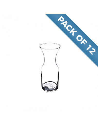 Libbey 17 oz. Glass Decanter Pack of 12