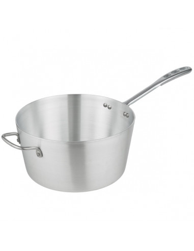 Vollrath Wear-Ever 8qt. Tapered Sauce Pan with Natural Finish