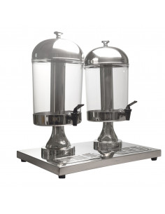 American Metalcraft Double Juice Dispenser