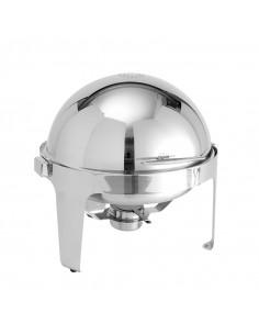 American Metalcraft Round Adagio Silver-Handled Chafer