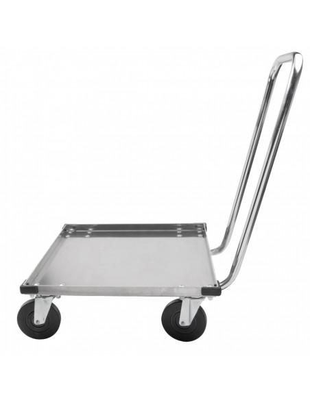 (CBH2121C) عربة ميترو من الألمنيوم لحمل أواني الزجاج