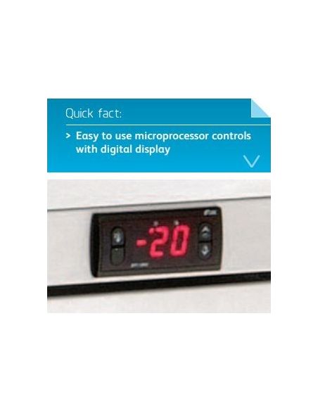 Foster HR150 Single Door Undercounter Refrigerator