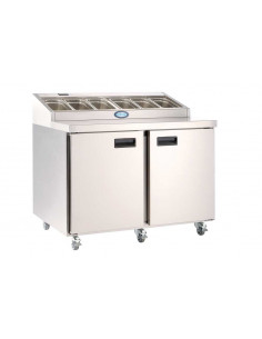 Foster FPS2 Two Doors Refrigerated Prep Counter