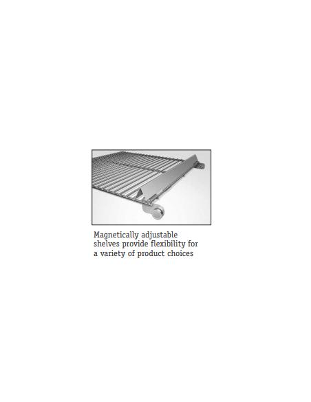 Hatco MDW‐2X Two Door Mini Display Warmer
