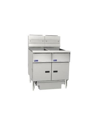 Pitco SE14S-FF-FD Electric Fryer With Built-in Filtration System
