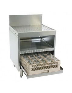 Glastender DBGR-24-RS Drainboard Glassracks