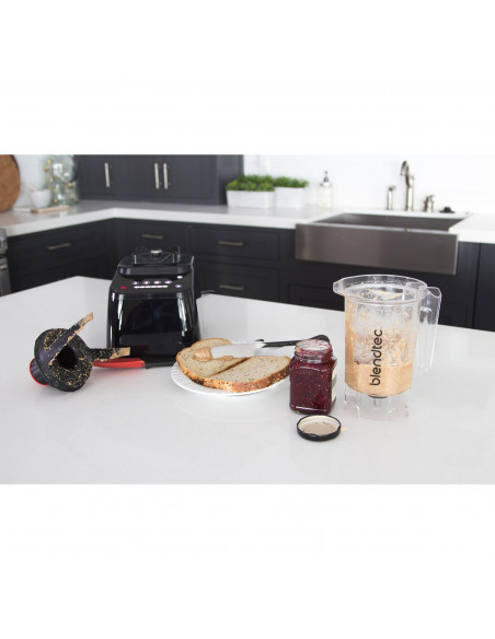 Blendtec® Jar Kit, J3, Clear, SM Blade, Twister and Gripper Lid