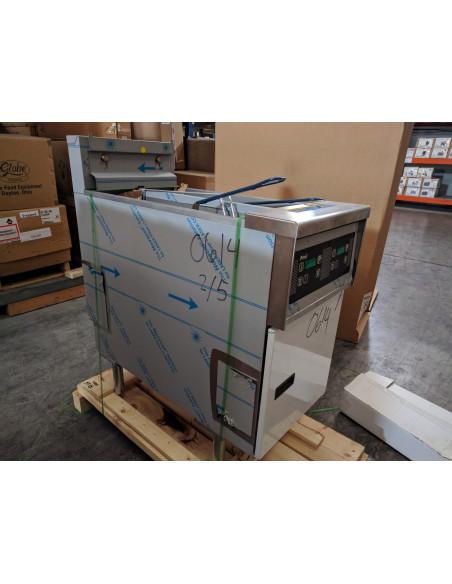Pitco SE14T-D-S Electric  Twin Solstice Fryer