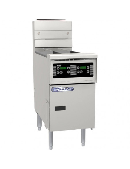 Pitco SE14T-D-S Electric  Twin Solstice Fryer