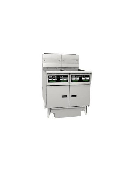 Pitco SG14S-C-FF-FD Solstice Series GAS Fryer 2 VAT with Filter Draw