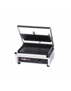 """Krampouz GECID4CO Smooth Top/ Smooth Bottom Panini Grill 14"""""""