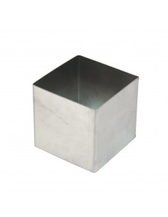 Kapp Pastry Mould Square Stainless Steel