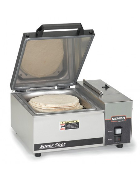 Nemco 6600-230 Super Shot Countertop Steamer