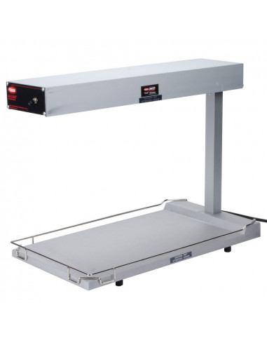 Hatco GRFFB Glo-Ray Portable Food Warmer with Heated Base