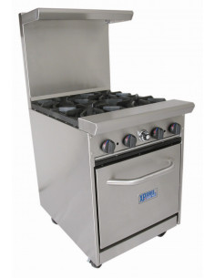 Bakers Pride BPXPR-4 Four Burner Range with Oven