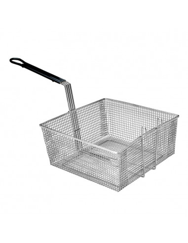 PITCO P6072181 FULL SIZE FRYER BASKET WITH FRONT AND BACK HOOKS