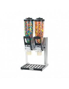 Server Countertop Double stand dispenser