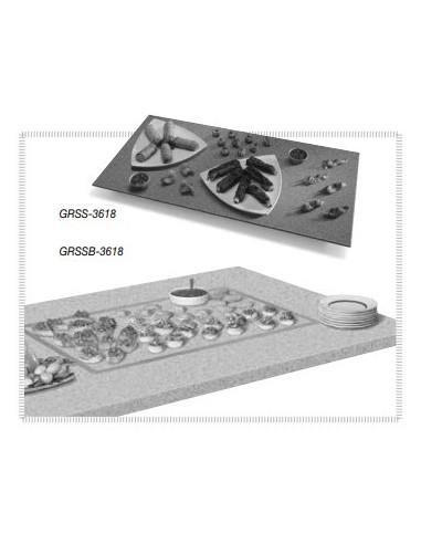 Hatco GRSSB-3618 Glo-Ray Rectangular Heated Stone Shelves