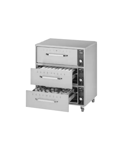 Hatco HDW-2 2-Drawer Warmers