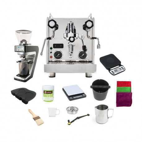 Profitec 700 with Sette 270 Grinder  and Barista tools