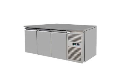 Under-counter three door freezer