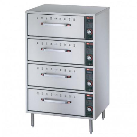 Hatco HDW-4 Freestanding Four Drawer Warmer