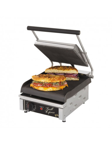 Star GX10IG Grooved Top & Bottom Panini Grill