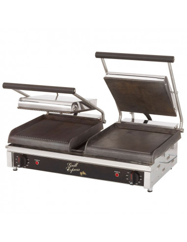 Star GX20IG Dual Grooved Top & Bottom Panini Grill