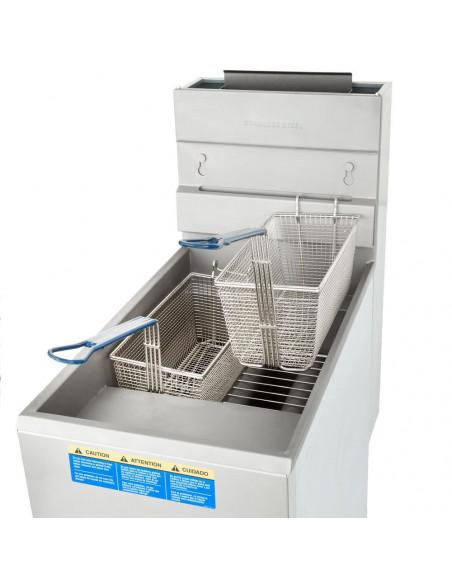 Pitco 35C + S Floor Model Gas Fryer