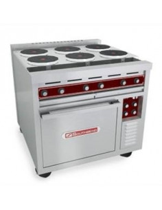"Southbend SE36D-BBB 36"" Electric Range w/ 6-Hot Plates And Oven"