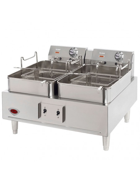 Wells F-67 Dual Pot Electric Countertop Fryer