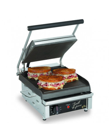 Star GX14IS Commercial Panini Press Smooth Plates