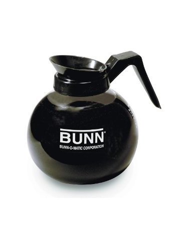 Bunn Black Glass Decanter