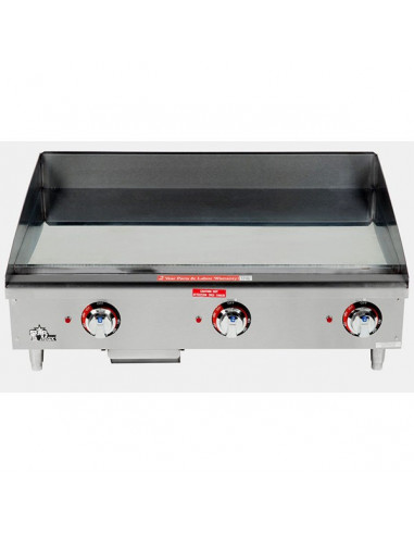 STAR MAX 536CHSF CHROME PLATED GRIDDLE 36""