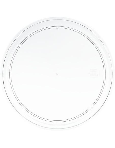 صنية العرض الدائرية والشفافة من كارلايزل
