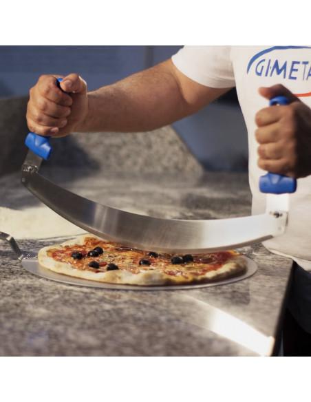 قطاعة البيتزا AC-MZP بمقاس 50 سم من جي آي ميتال