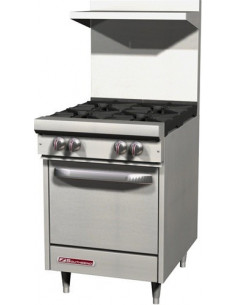 Southbend S-Series S24E Gas Range 4-Burners & Standard Oven