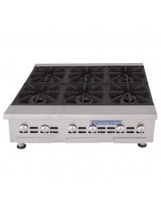 Bakers Pride BPXP-GHP-6i 6 Burners Countertop Range